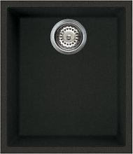Reginox Elleci Quadra100 Black Granite Undermount