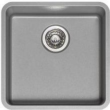 Reginox Ohio Atomic Grey Stainless Steel Single