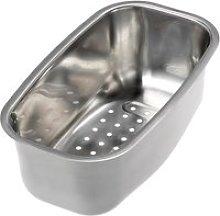 Reginox Stainless Steel Half Bowl Colander -