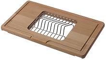 Reginox Wooden Chopping Board with Plate Rack -