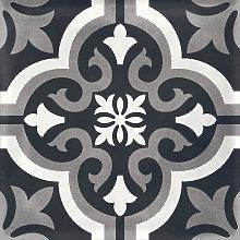 Regis Classic Dark 330 x 330mm Tile - Pack of 11 - Covers 1.2m2