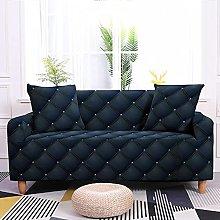 Regular Square Cat Paw Stripe Polka Dot Sofa