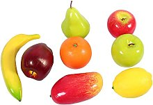 Regun Plastic Fruit - 8pcs/set Plastic Fruit