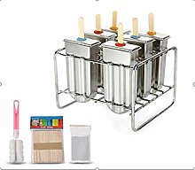 Regun Popsicle,Ice Lolly Mold Stainless Steel