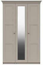 Reid Part Assembled 3 Door Mirrored Wardrobe