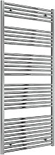 Reina Diva Steel Straight Chrome Heated Towel Rail
