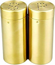 Rejoicing 2Pcs/ a set Gold SP Stainless Steel
