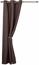 rejuvopedic Chocolate Thermal Winter DOOR Curtain