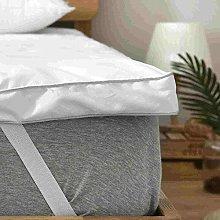 rejuvopedic King Bed Bounce Back Mattress Topper,