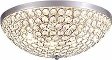 Rekaf LED Crystal Raindrop Ceiling Light