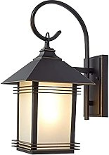 Rekaf New Chinese Style Outdoor Wall Lamp Japanese