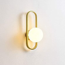 Rekaf Nordic Retro Wall Lamp Metal Wall Light