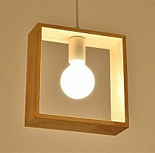Rekaf Wooden Hexagon Shape Pendant Lamp Modern