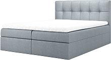 Rekius - Minimalist Divan Bed with a Linen Storage