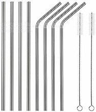 Rekkles Reusable Stainless Steel Drinking Straw