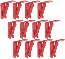 REKYO 24 PCS Plastic Tablecloth Clips Table Cloth