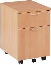 Relax Office 400mm Wooden Filing Cabinet Mobile