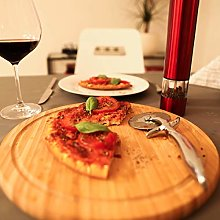 Relaxdays 10022556Pizza Cutter Profi, 7cm