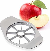 Relaxdays 10023684 Slicer, 8 Apple Or Pear Wedges,