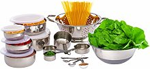 Relaxdays 10024719 20-Piece Kitchen Accessory Set,