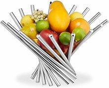 Relaxdays 10027649 Modern Fruit Storage Bowl,