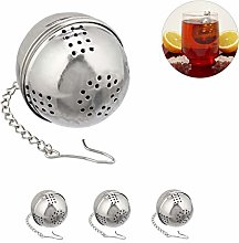 Relaxdays 10027831 Tea Mesh Strainer Set of 4,