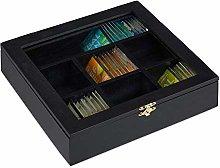 Relaxdays 10027981_46 Wooden Tea Box, 7