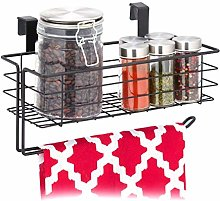 Relaxdays 10031390_46 Hanging Kitchen Roll Holder,