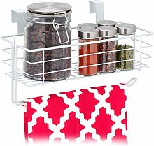 Relaxdays 10031390_49 Hanging Kitchen Roll Holder,
