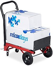 Relaxdays 2in1 Hand Truck, Multifunctional