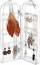 Relaxdays Acrylic Jewellery Rack, Folding