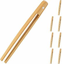 Relaxdays Bamboo, Set of 8, 20 cm Long, Magnetic,