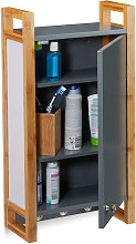 Relaxdays Bathroom Hanging Cabinet, Wall Cabinet