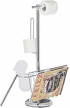 Relaxdays Butler with Paper Holder, Toilet Brush