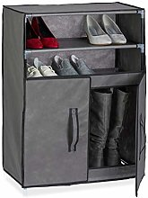 Relaxdays Cabinet, 3 Shelves, 9 Pairs of Shoes,