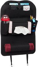 Relaxdays Car Seat Organiser, Large Back Of Seat