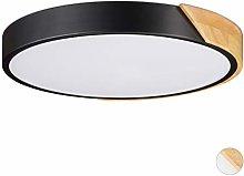 Relaxdays Ceiling Lamp, 24 W LED Hallway, Round