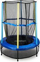 Relaxdays Children's Trampoline, Safety Net,