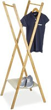 Relaxdays Clothes Stand made of Bamboo, Size: