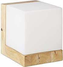 Relaxdays Cube Wall Lamp, Warm Wall Lighting, E27,