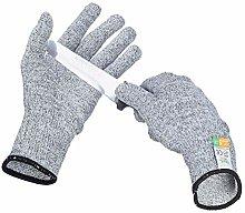 Relaxdays Cut Resistant Class 5 Gloves, EN 388