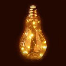 Relaxdays Decor LED Light Bulb, Desk Lamp,