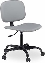 Relaxdays Desk Chair with Castors,