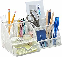 Relaxdays Desk, Office Organiser with Pen Holder