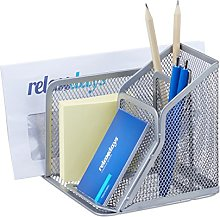 Relaxdays Desk Organiser with Office Note Box and