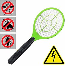 Relaxdays Electric Fly Swatter, No Chemicals,
