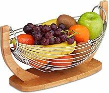 Relaxdays Fruit Basket, Banana Hammock, Vegetable