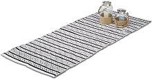 Relaxdays Hallway Carpet Rug, 80 x 200 cm, Cotton,