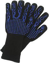 Relaxdays heat resistant gloves, 1 pair, heatproof