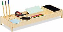 Relaxdays Induction Station, Desk Organiser for